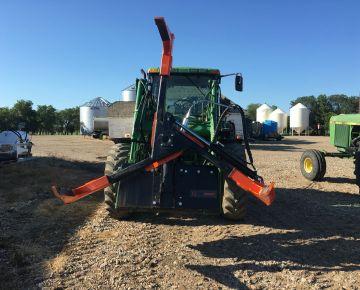 tire handler for farm equipment