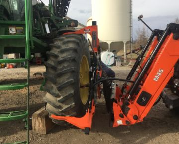 tractor tire remover