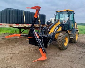 180 degree rotation mechanism tire lifter