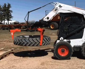 easily remove a tractor tire