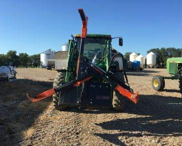 tire handler for farm equipment