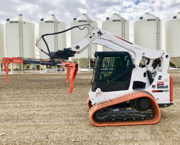 tire lifter design for farm equipment